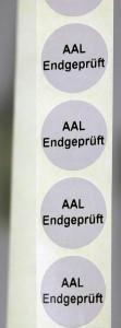 Analoge Anzeigesysteme Latschan e.K. Prüfsigel